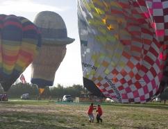 Mal tiempo para vuelo en globo