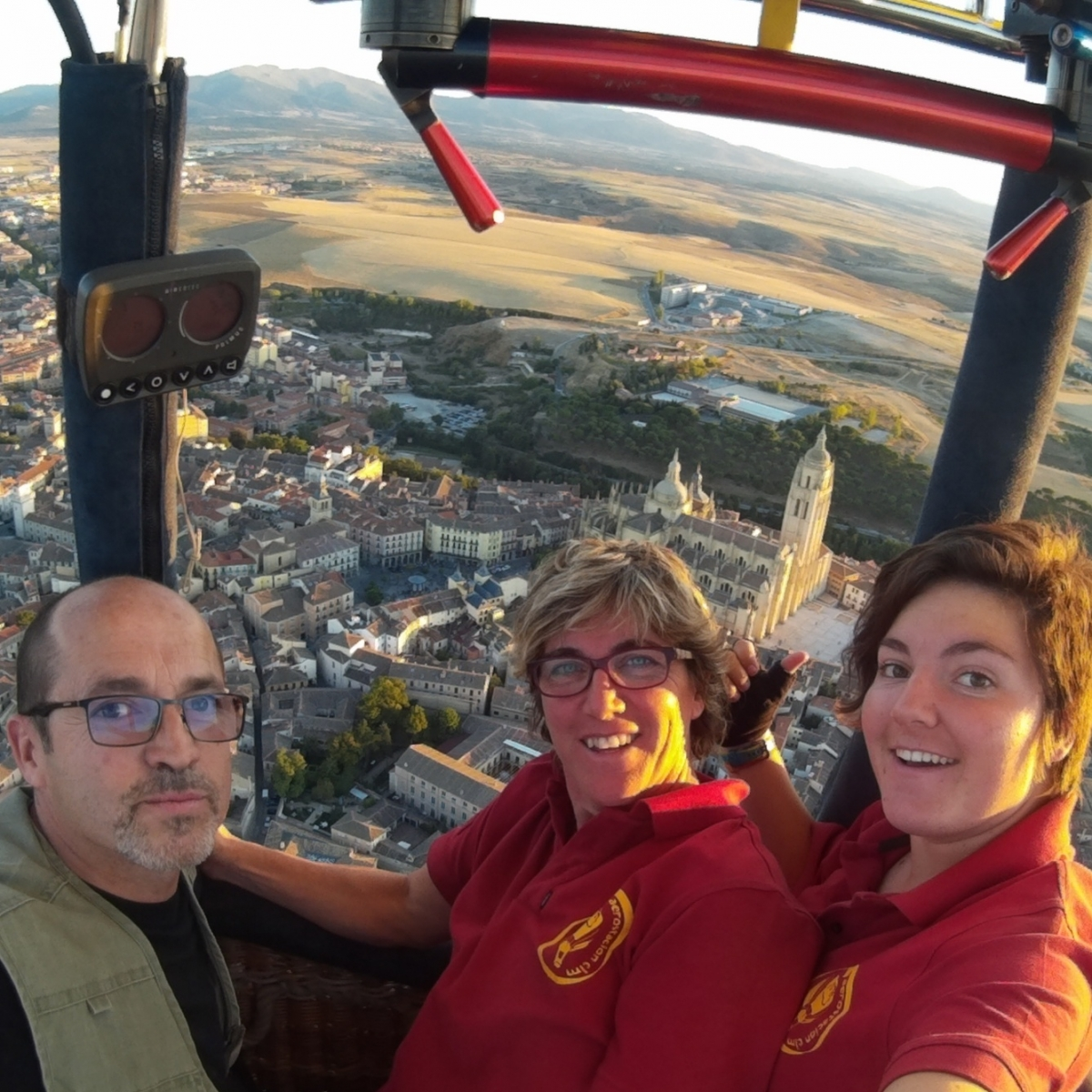 Vuelo festival Segovia