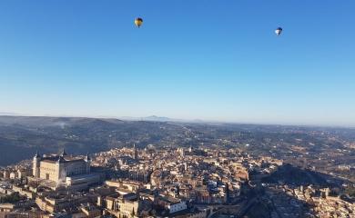 Sobrevolando Toledo