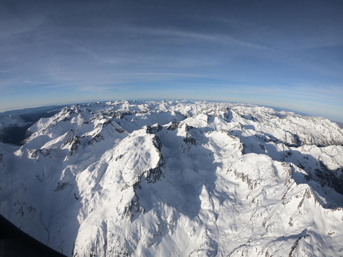 Vuelo por Pirineos