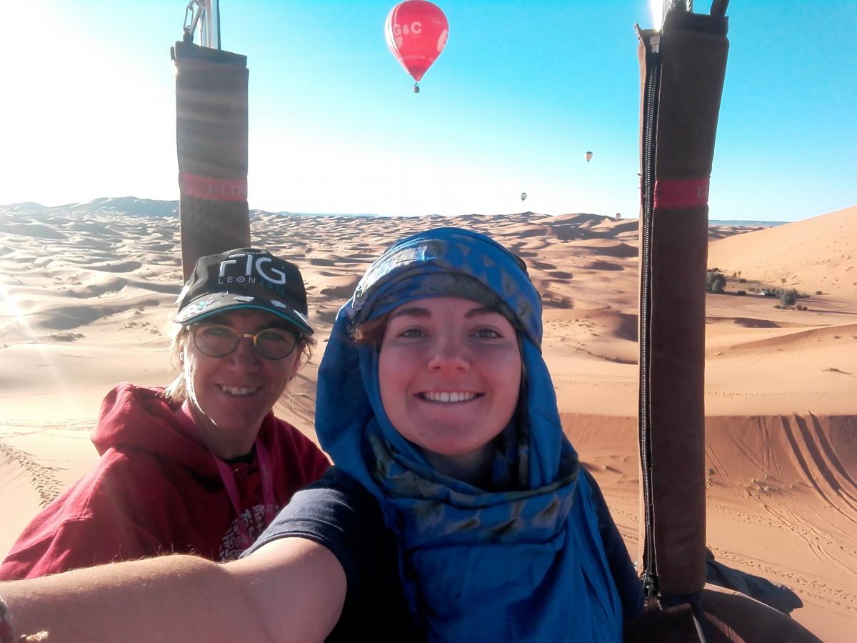 Nuestras Pilotos en Marruecos
