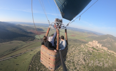 Volando entre Castillos